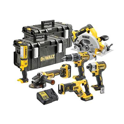 DEWALT DCK623P3 18V XR Brushless  6 Piece Kit