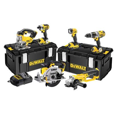 DEWALT DCK692M3 Cordless 3 Speed 6 Piece Kit 18V 3 x 4.0Ah Li-ion