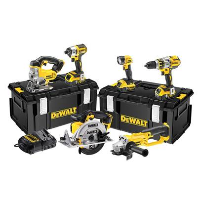DEWALT DCK694P3 Brushless 3 Speed 6 Piece Kit 18V 3 x 5.0Ah Li-ion