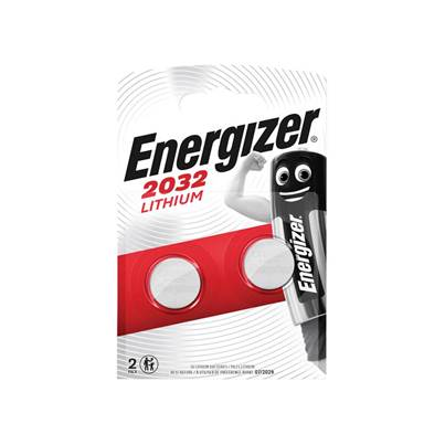 Energizer® CR2032 Coin Lithium Battery