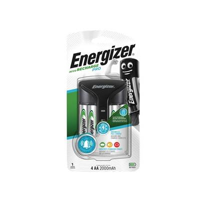 Energizer® Pro Charger + 4AA 2000 mAh Batteries