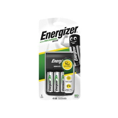 Energizer® Charger 1300 + 4 AA 1300mAh Batteries