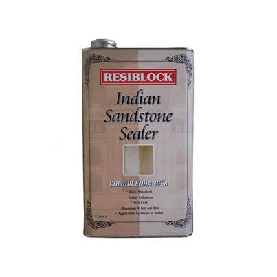 Everbuild Resiblock Indian Sandstone Sealer Colour Enhancer 5 Litre
