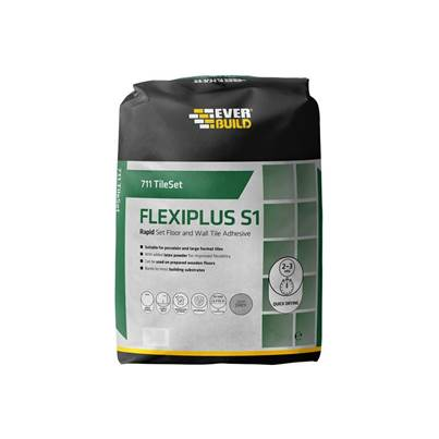 Everbuild 711 Rapid Set Flexiplus Tile Adhesive