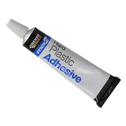 Everbuild STICK2® Hard Plastic Adhesive 30ml