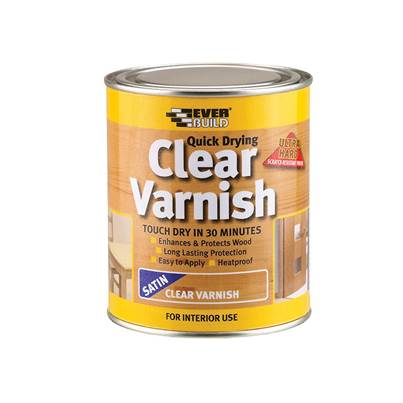 Everbuild Quick Dry Wood Varnish