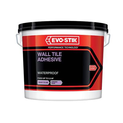 Evo-Stik Waterproof Wall Tile Adhesive