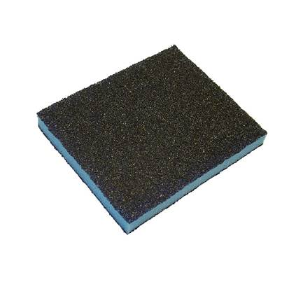 Faithfull Contour Sanding Pads Assorted Grades 120 x 100 x 13mm (3)