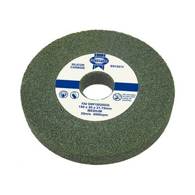 Faithfull Grinding Wheels, Silicon Carbide