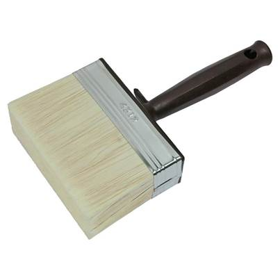 Faithfull Woodcare Shed & Fence Brush 120mm (4.3/4in)
