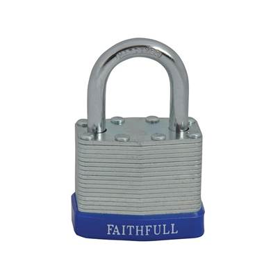 Faithfull Laminated Steel Padlocks