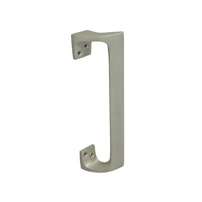 Forge Pull Handle - Aluminium Oval 225mm (9in)