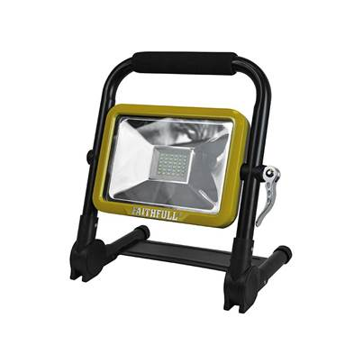 Faithfull Power Plus 20W SMD Folding Rechargeable Light
