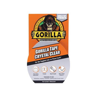 Gorilla Glue Gorilla Tape Crystal Clear