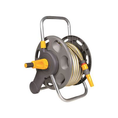Hozelock 2431 Assembled Hose Reel & 25m of 12.5mm Hose