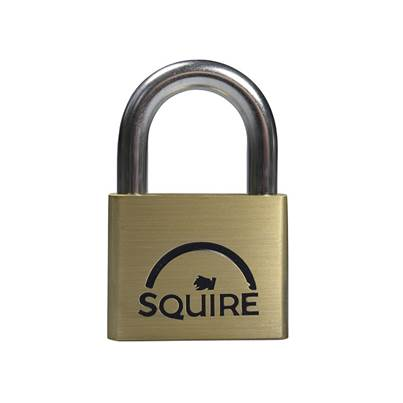 Henry Squire Lion Brass Padlocks
