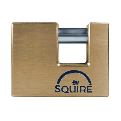 Henry Squire Solid Brass Warehouse Padlocks
