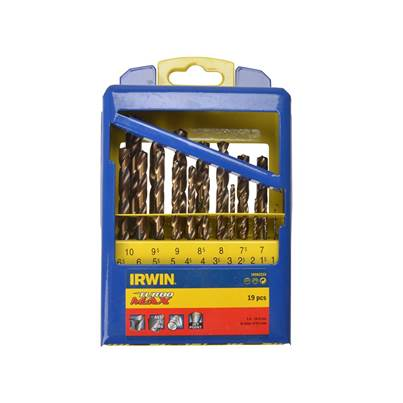 IRWIN® Turbo Max HSS Drill Bit Set of 19
