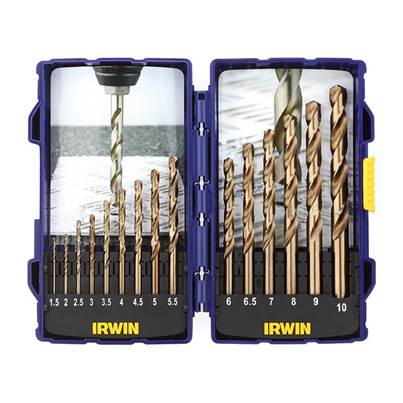 IRWIN® HSCO Pro Drill Set 15 Piece 1.5-10mm