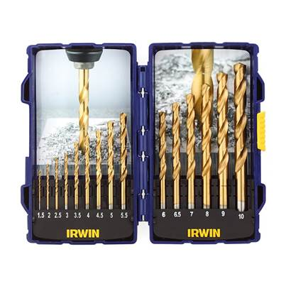 IRWIN® HSS TiN Pro Drill Set 15 Piece