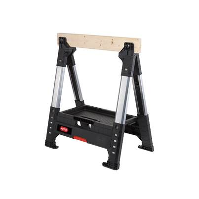 Keter Roc Lumberjack™ Adjustable Single Sawhorse