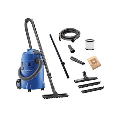 Kew Nilfisk Alto Buddy II Wet & Dry Vacuum With Power Tool Take Off 18 Litre 1200W 240V