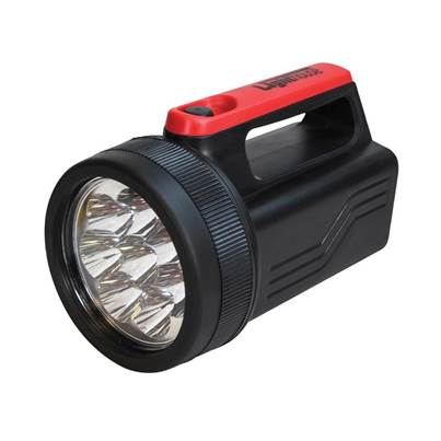Lighthouse 8 LED Spotlight with 6V Battery 996