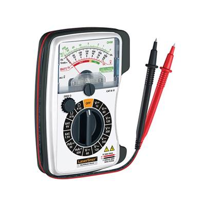 Laserliner Multimeter Analogue - AC/DC Voltage Tester