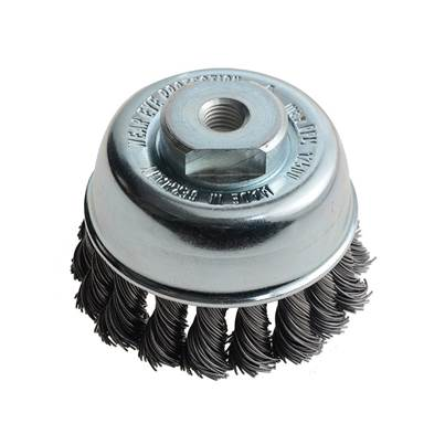 Lessmann Knot Cup Brush