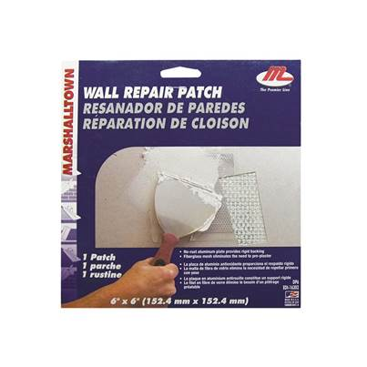 Marshalltown M28393 Drywall Patches 152.4mm² (Pack 12)