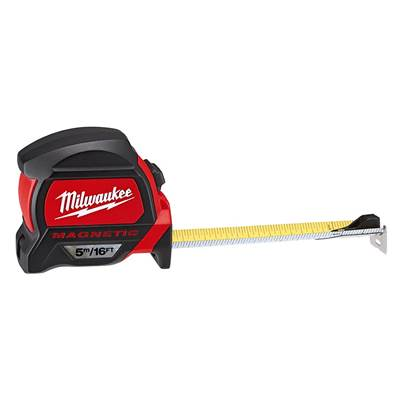 Milwaukee Hand Tools Premium Magnetic Tape Measure