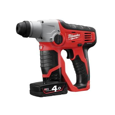 Milwaukee Power Tools M12 H Compact Cordless SDS 2 Mode Hammer 12 Volt