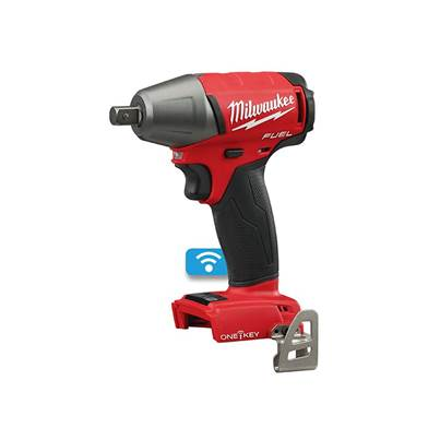 Milwaukee Power Tools M18 ONEIWP12-0 Fuel™ ONE-KEY™ 1/2in Pin Detent Impact Wrench 18V Bare Unit