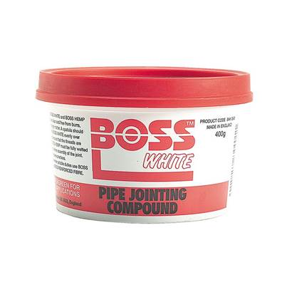 Miscellaneous Boss White Tub 400g