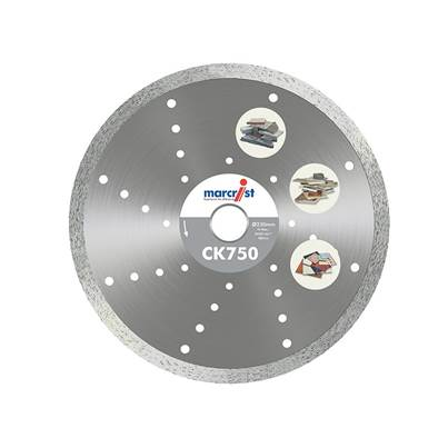 Marcrist CK750 Diamond Tile Blade Fast Cut