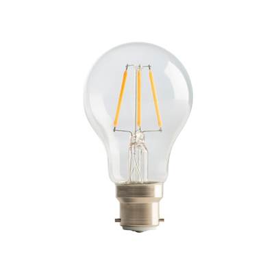 Masterplug LED Classic Clear Filament Bulb