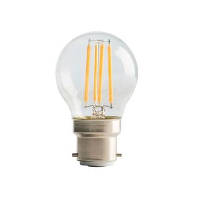 Masterplug LED Classic Clear Filament Dimmable Bulb