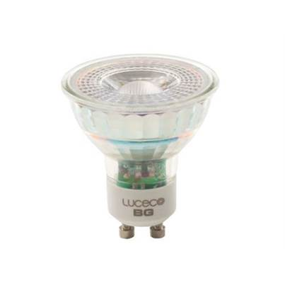 Masterplug LED GU10 Glass Non-Dimmable Bulb