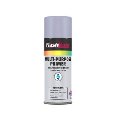 PlastiKote Multi Purpose Enamel Spray Paint Primer 400ml
