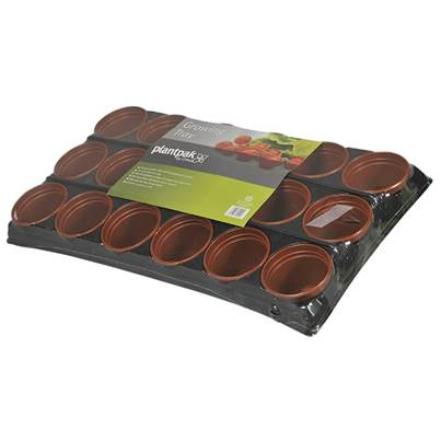 Plantpak Growing Tray 18 Pot (Pack of 13)