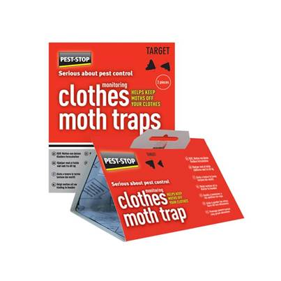 Pest-Stop Systems Clothes Moth Trap Twin Pack