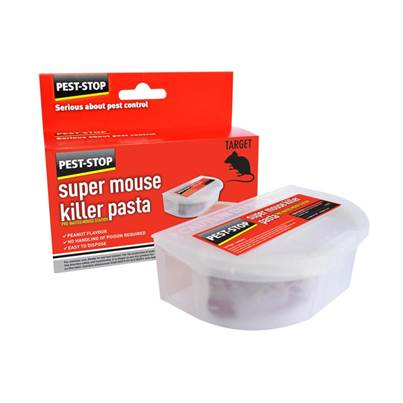 Pest-Stop Systems Super Mouse Killer Pasta Pre-Baited Station