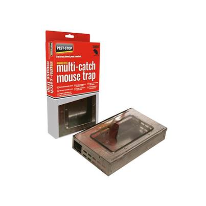 Pest-Stop Systems Multicatch Humane Mouse Trap Metal
