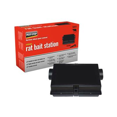 Pest-Stop Systems Rat Bait Station (Plastic)