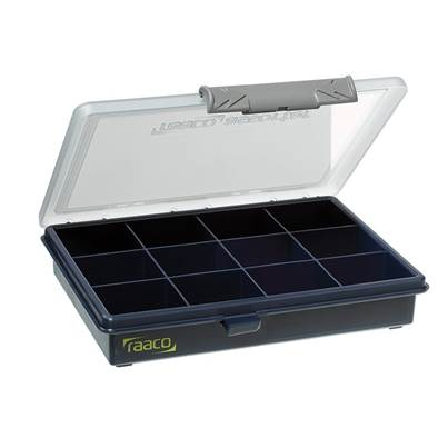 Raaco A6 Profi Service Case Assorter 12 Fixed Compartments