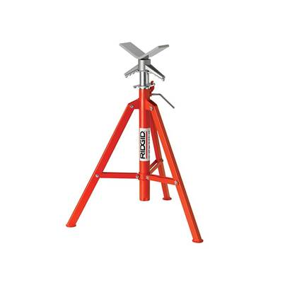 RIDGID VF-99 V-Head Folding Pipe Stand 22168