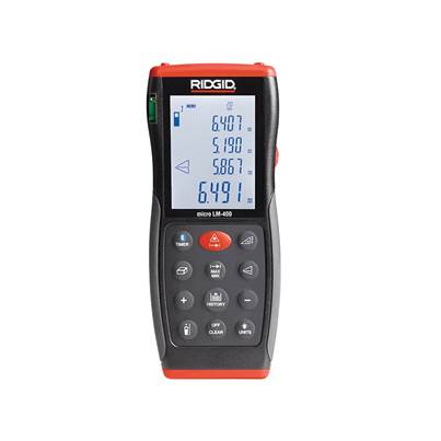 RIDGID 36813 Micro LM-400 Advanced Laser Distance Measure 70m