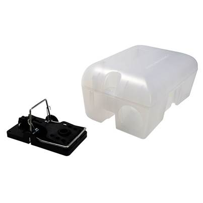 Rentokil Enclosed Rat Trap Lockable Box
