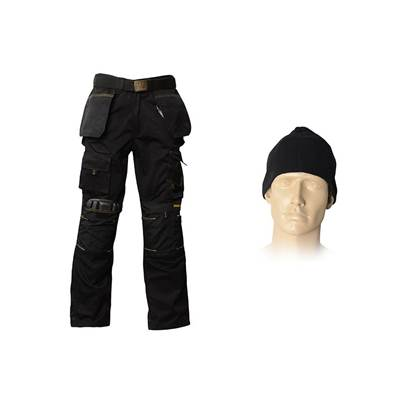 Roughneck Clothing Trouser Pack, Belt, Beanie & Kneepads