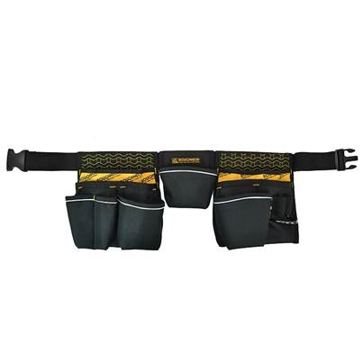 Roughneck Clothing Contractor's Double Pouch Tool Belt